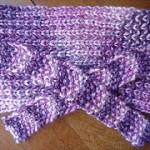 Terminei o meu primeiro tricot!