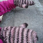 Some knitting | Algo de tricot