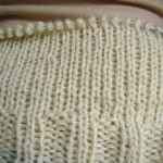 Some more knitting | E ainda o tricot