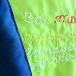 """""""Bai mantinha feliz buando"""" baby blanket"""