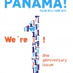 "Anniversary issue of ""We're in Panama!"""