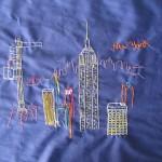 Nova Iorque, bordada