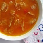 Sopa de tortilha, iguaria mexicana