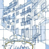 "Moving to Lisbon, an awesome ""azulejo"" city. After having lived in Latin America for six years, we moved back to Lisbon in 2013. I was ecstatic to come back home and live in this city that I love. Everywhere I look there's a little detail worth seeing, an azulejo tile, a pattern, the rows of houses painted pink, yellow, blue; the river shining like blue silver in the background. And the food? Yum."