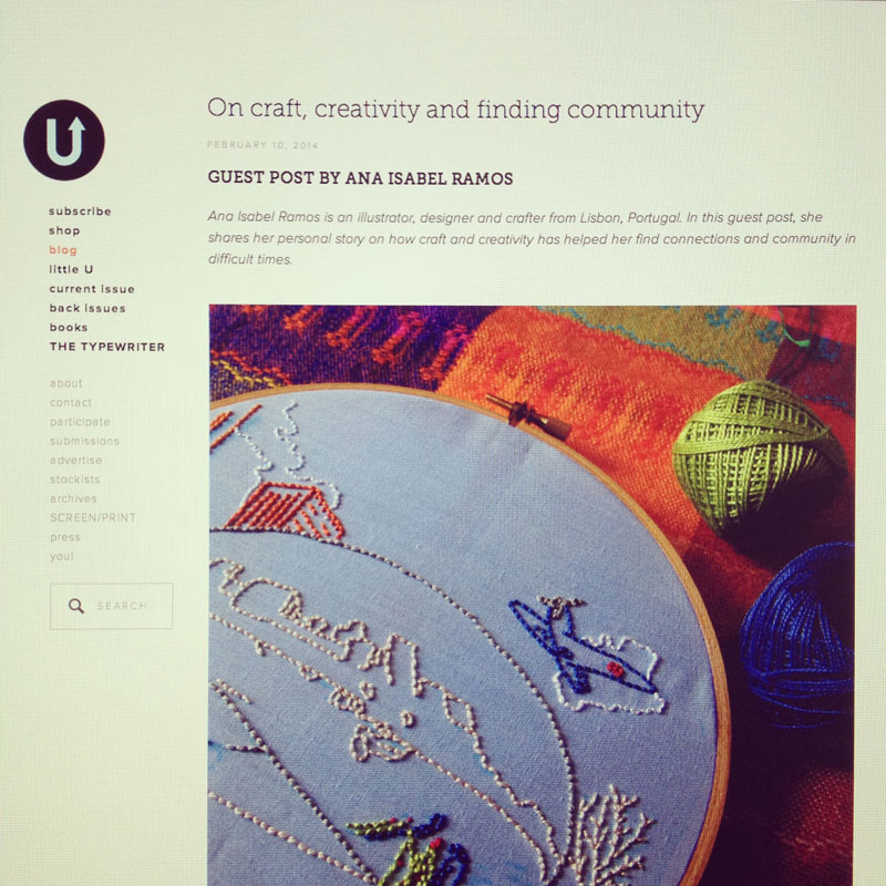 air guest posting at Uppercase Magazine