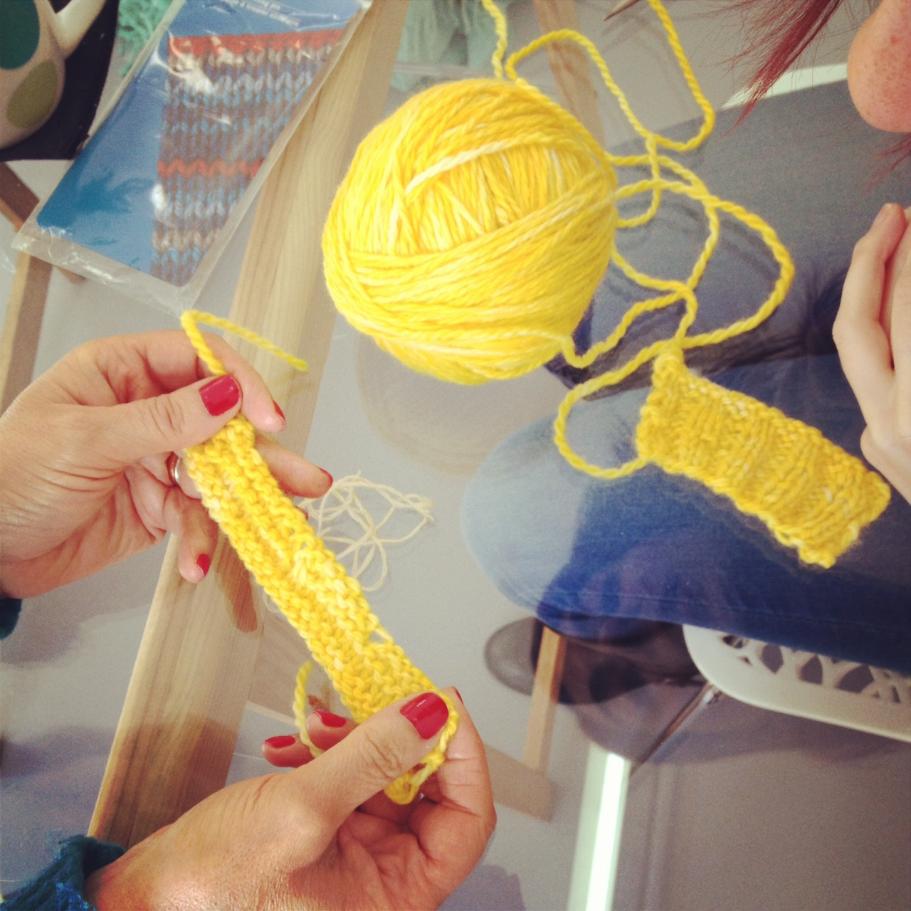 workshops de tricot air