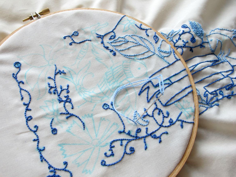 05_embroidery in progress