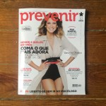 Tricot na revista Prevenir de Abril de 2016