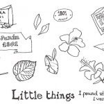 Illustration Friday: Little things