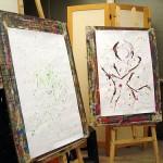 Painting, again | A pintar, outra vez