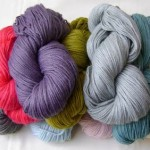 Choosing the yarn / Eligiendo el hilado