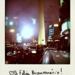 Buenos Aires bye bye (8): Feliz Bicentenário!
