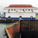 Visita ao Canal do Panamá, do lado Atlântico