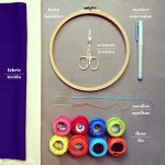 My favorite embroidery supplies | Materiais para bordar