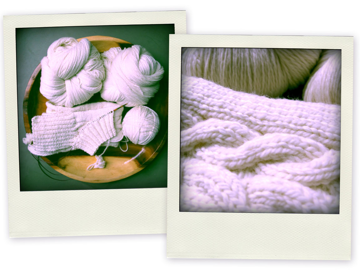 Come knit with me!