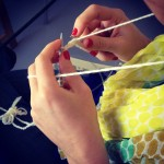 Last Saturday, our knitting workshop