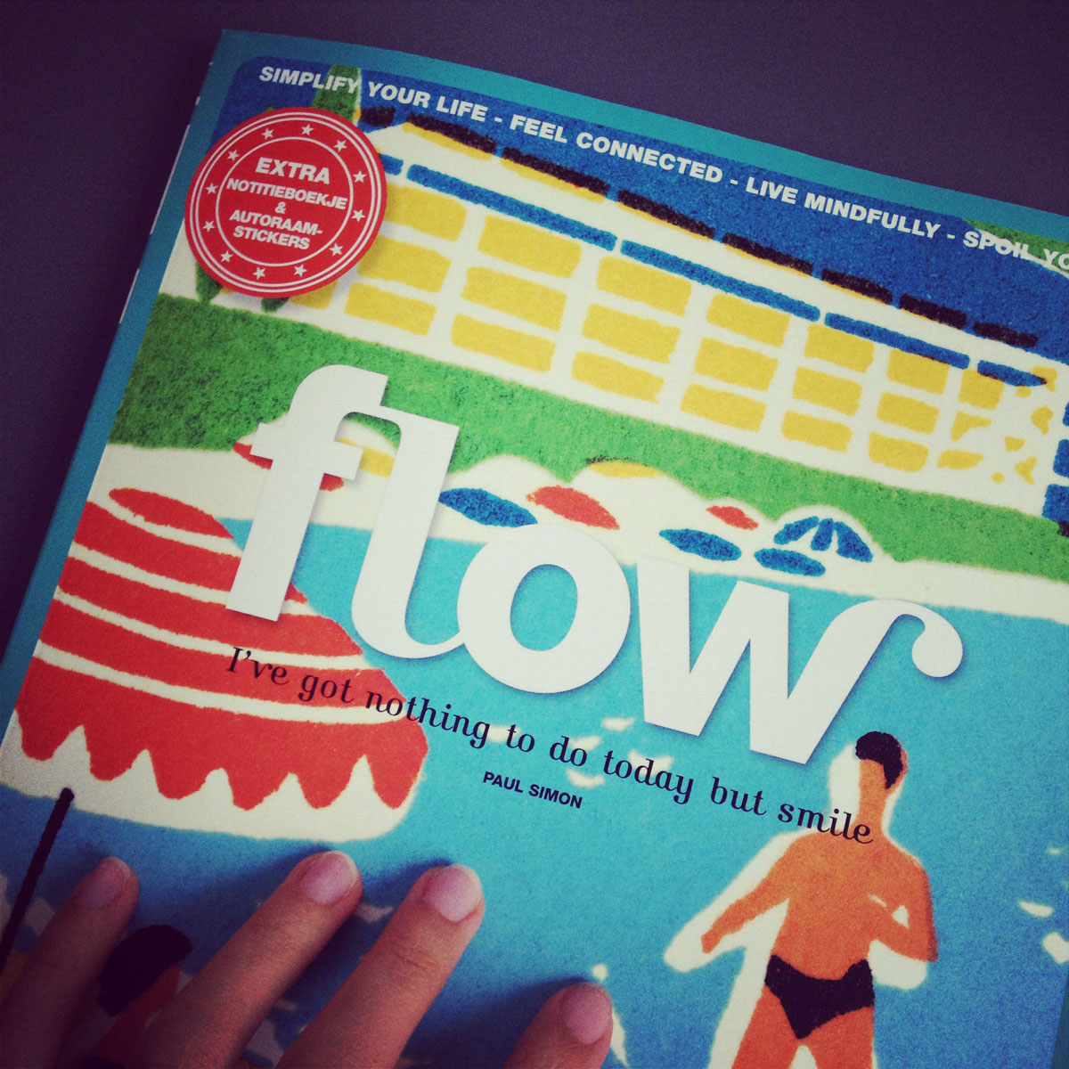 air Embroidery Club featured on Flow Magazine