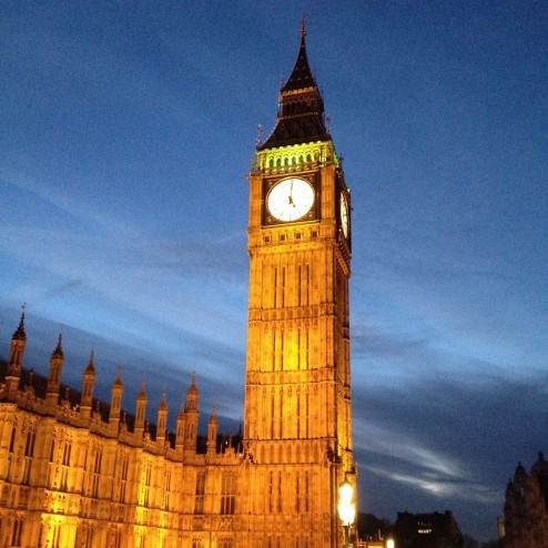January 2015 - we went to London!